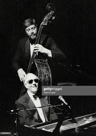 Painist George Shearing and bassist Don Thompson last night ...